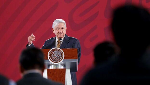 Andrés Manuel López Obrador ha abierto un debate público en el entorno académico y político a raíz de la petición de disculpa por los efectos perniciosos de la conquista hecha a España. (EFE)