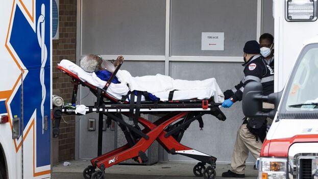 El condado de Los Ángeles es el lugar del país con más casos detectados (663.954) y fallecimientos (9.153) dentro de EE UU. (EFE)