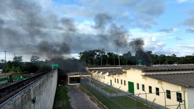 Las cifras totales de víctimas en la prisión Anisio Jobim de Manaos aún se desconocen. (@PVadconcelos)