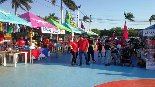 Los cubanos en el país centroamericano cuentan con el apoyo de la Red Antiimperialista de Solidaridad con los Pueblos Augusto C. Sandino. (Prensa Latina)
