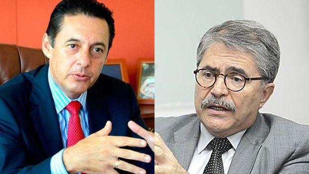 Antonio Álvarez y Juan Diego Castro encabezan la mayor parte de las encuestas y en un práctico empate técnico. (oncenoticias)