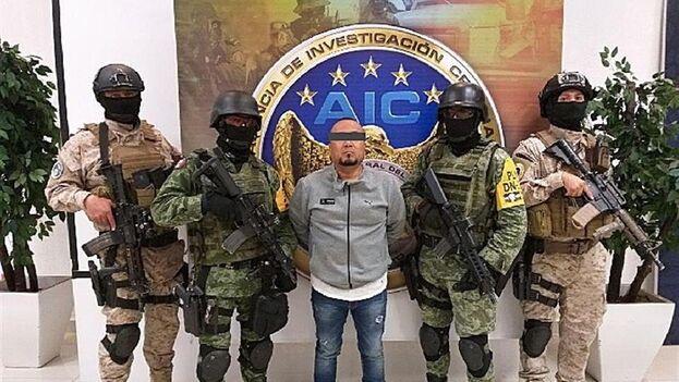 Jose Antonio Yepez, 'El Marro', detenido por las fuerzas federales de Guanajuato, Mexico. (EFE)