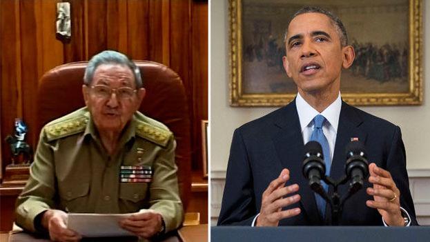 Anuncio por parte de Raul Castro y Barrack Obama sobre la normalización de relaciones entre Cuba y EE UU