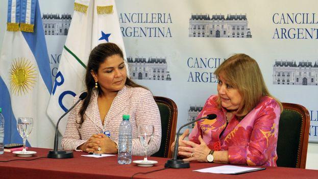 Anuncio del lanzamiento del Foro Económico en Argentina. (Cancillería Agentina)