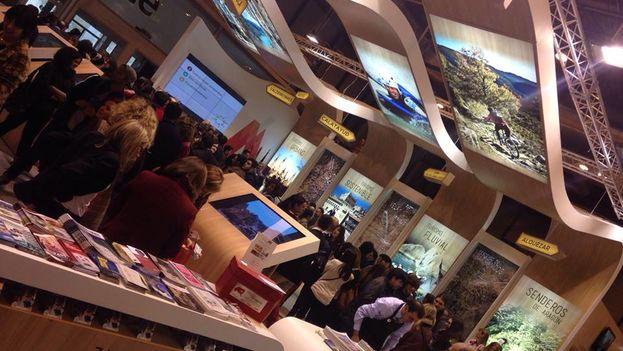 El 'stand' de Aragón en la Feria Internacional de Turismo FITUR. (Aragón Exterior)