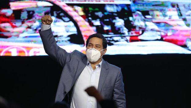Arauz es desde agosto pasado heredero del legado político de Rafael Correa. (EFE/ José Jácome)