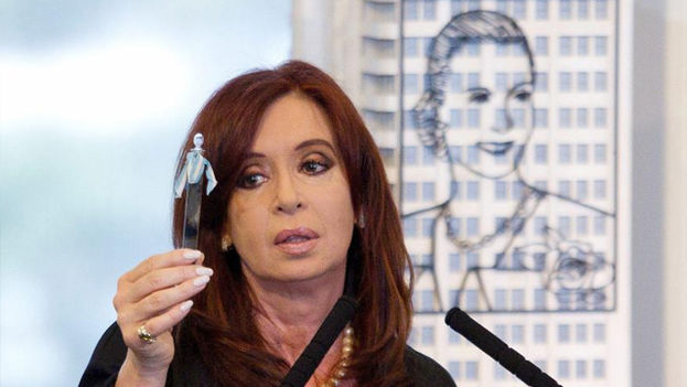 La ex presidenta de Argentina, Cristina Fernández de Kirchner. (EFE)