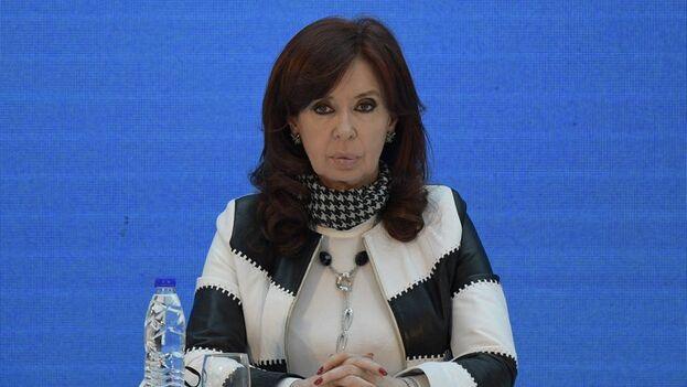 La expresidenta de Argentina Cristina Fernández de Kirchner (2007-2015), actual vicepresidenta. (EFE/EPA/Juan Mabromata/Archivo)