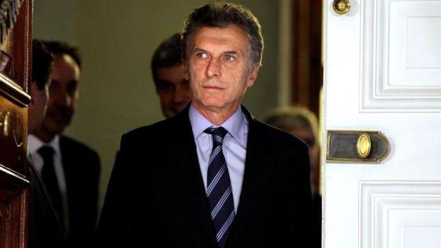 El presidente electo de Argentina, Mauricio Macri (Foto EFE)
