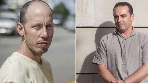 Ariel Urquiola y Eduardo Cardet, declarados presos de conciencia por organizaciones internacionales. (MartiNoticias)