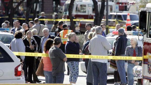 El sospechoso del tiroteo en Arizona fue identificado como Steven Jones, de 18 años. (Fotograma/Twitter)