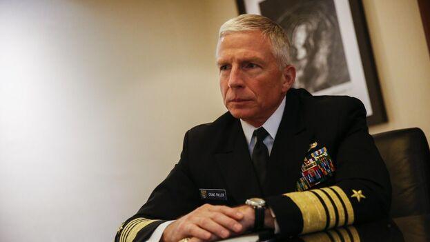 El comandante del Mando Sur de las Fuerzas Armadas de EE UU, almirante Craig Faller, confirmó la presencia de tropas rusas en Venezuela. (EFE)