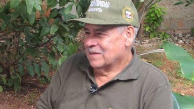 Miguel Ángel Pascuas, de 76 años, fue fundador de las Fuerzas Armadas Revolucionarias de Colombia (FARC). (Captura)