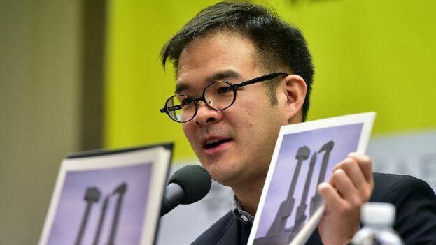 Arnold Fang, de Amnistía Internacional, expuso las condiciones que enfrentan los ciudadanos norcoreanos en el último informe sobre el país. (EFE)