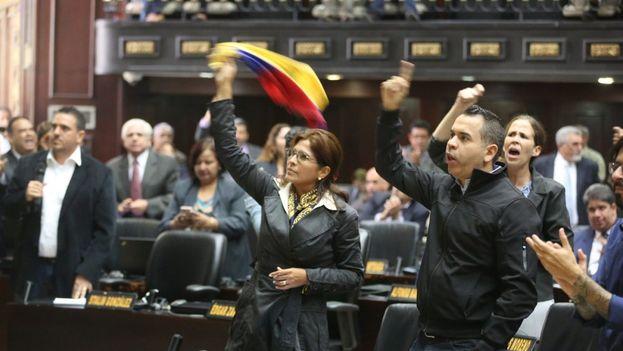 La Asamblea designó una Comisión Especial para solicitar al Ministerio Público que se investigue el fraude Constituyente. (@AsambleaVE)