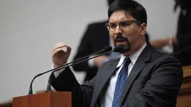 El vicepresidente de la Cámara, Freddy Guevara, la asunción por parte de la Asamblea Nacional Constituyente de las competencias del Parlamento tiene como objetivo burlar el control parlamentario. (EFE)