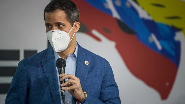 El presidente de la Asamblea Nacional, Juan Guaidó. (EFE/ Miguel Gutiérrez/Archivo)