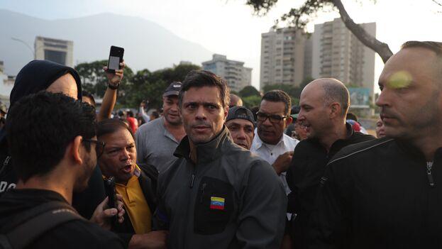La Asamblea Nacional reconoce a Leopoldo López como único líder del partido Voluntad Popular. (EFE)