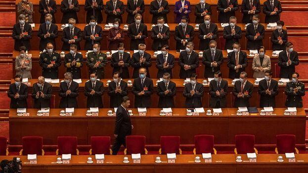 La Asamblea Nacional Popular china se inauguró este viernes y en ella se ha anunciado una subida del presupuesto para Defensa. (EFE)