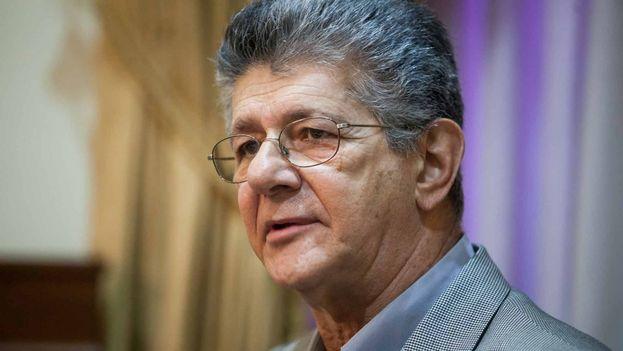 Henry Ramos Allup, ex presidente de la Asamblea Nacional de Venezuela. (EFE Archivo)