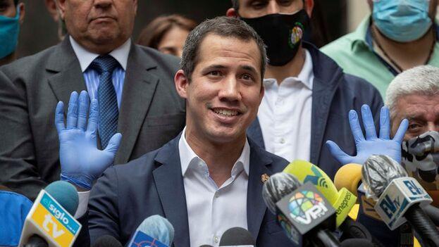 El presidente de la Asamblea Nacional de Venezuela, Juan Guaidó. (EFE/Rayner Peña/Archivo)
