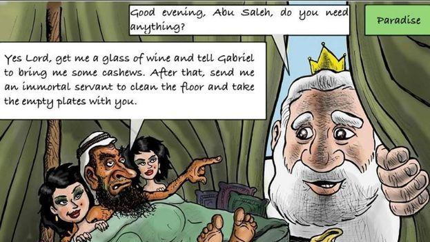 """Asesinado el escritor jordano Nahed Hattar que difundió una caricatura """"blasfema"""". (CC)"""