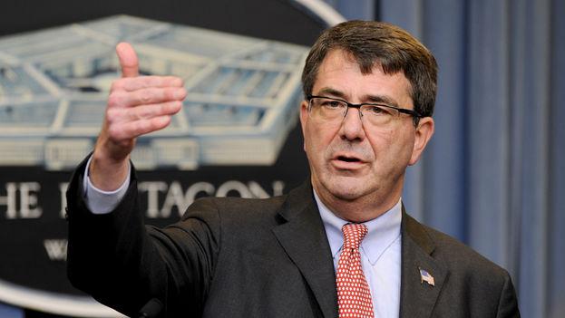 Ashton Carter, secretario de Defensa de EE UU. (CC)