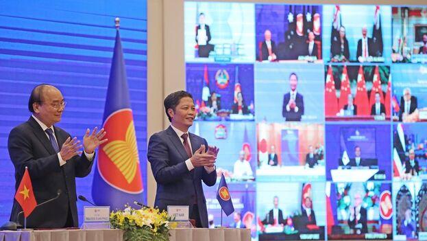 China es la principal signataria de la Asociación Económica Integral Regional (RCEP), el mayor tratado de libre comercio del mundo. (EFE)