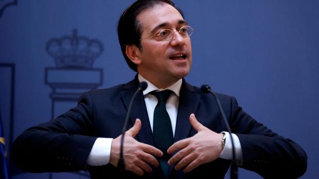 El ministro de Asuntos Exteriores de España, José Manuel Albares. (EFE/Juan Carlos Hidalgo/Archivo )