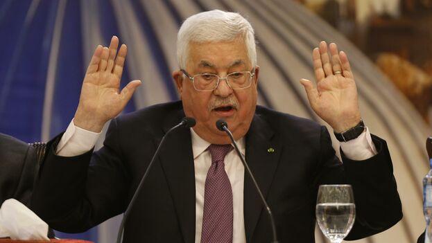 El presidente de la Autoridad Palestina, Mahmud Abas, rechazó el plan de paz presentado por Donald Trump. (EFE)