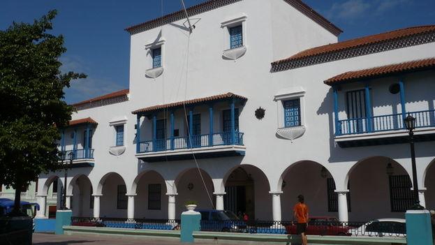 Ayuntamiento de la ciudad de Santiago de Cuba.