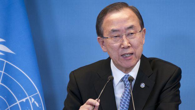 Ban Ki-moon secretario general de las Naciones Unidas. (CC)