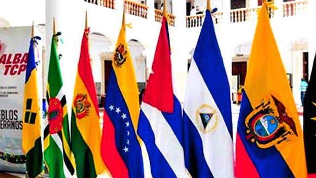 Banderas de los Países del Alba