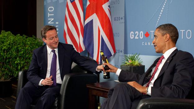 Las palabras de Barack Obama suponen un espaldarazo a la campaña de David Cameron por la permanencia del Reino Unido en la UE. (CC)