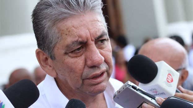 El alcalde opositor de Barquisimeto, Alfredo Ramos, estaba preso desde julio por no levantar las barricadas en su jurisdicción durante las protestas de este año. (@AlfredoARamos)