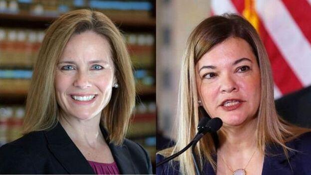 Barret y Lagoa son las favoritas para la nominación, que Donald Trump anunciará previsiblemente el viernes, pese a la tradición de no hacer estos nombramientos en año electoral.