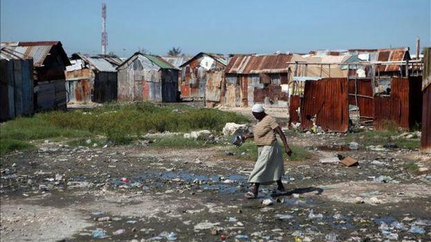 Barrio Cité Soleil de Puerto Príncipe, en Haití. (EFE)