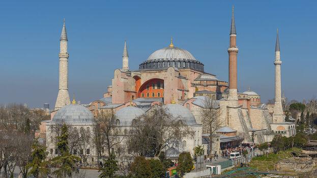 Basílica de Santa Sofía en Estambul, Turquía. (CC/Arild Vågen)