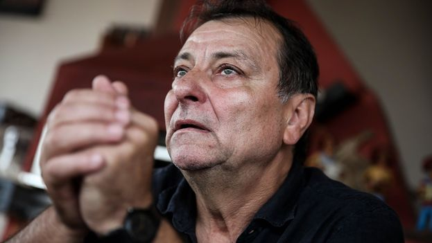 Cesare Battisti fue condenado en Italia por cuatro asesinatos en la década de 1970 pero huyó a América Latina. (EFE)