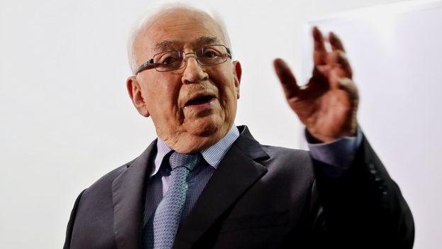El expresidente colombiano Belisario Betancur formó parte del Partido Conservador. (EFE/Archivo)