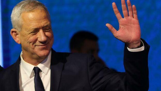 Beni Gantz es la principal alternativa al actual primer ministro, Benjamin Netanyahu. (EFE)