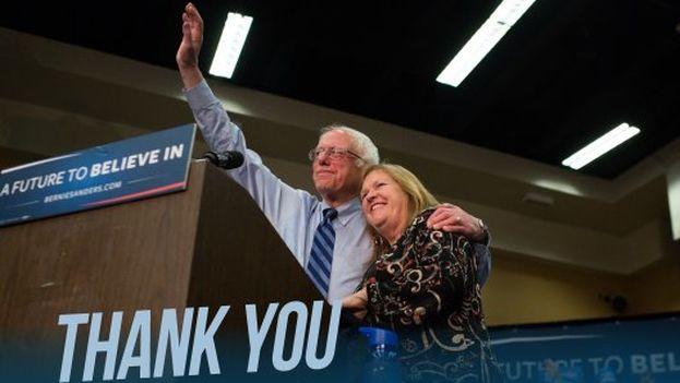Bernie Sanders agradeció a sus votantes la victoria de este martes en Virginia Occidental. (@BernieSanders)