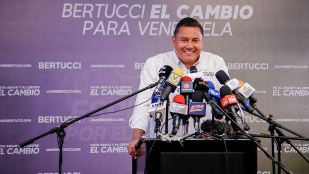 Bertucci pidió a Falcón que sea él quien se una a su candidatura. (Javier Bertucci)
