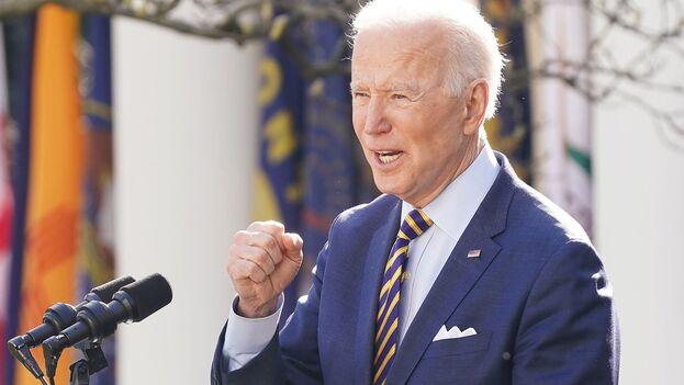 El presidente estadounidense, Joe Biden, aún no ha explicado cuál será su enfoque hacia Corea del Norte. (EFE/Jim Lo Scalzo)
