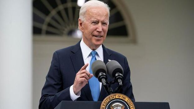 Joe Biden continúa la presión sobre Cuba, Venezuela y Nicaragua. (EFE)