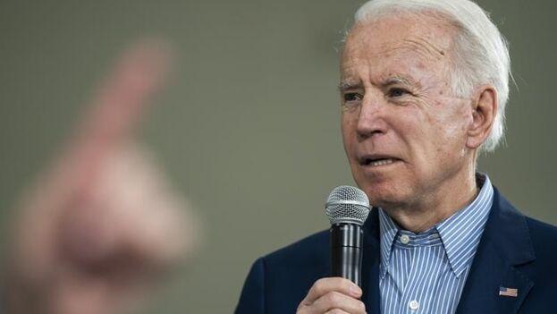 Biden tiene previsto visitar Florida el próximo martes y su compañera de fórmula, Kamala Harris, ya se desplazó el pasado jueves a Miami. (EFE)