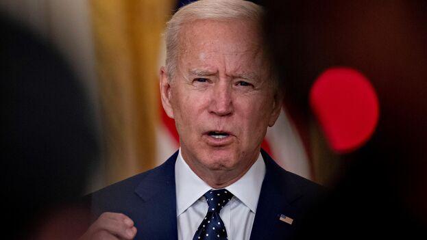 Biden ha defendido una relación cordial y estable con Putin para solucionar las diferencias entre sus países. (EFE/EPA/Andrew Harrer)