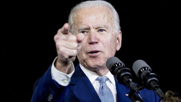 """Biden dijo que no descarta denunciar si las cosas se complican aún más, pero recalcó que un litigio """"llevaría demasiado tiempo"""". (EFE)"""