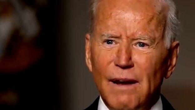 Biden no hizo autocrítica en la entrevista sobre la precipitada salida de Afganistán. (ABC News)