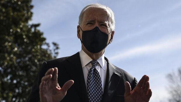 En el equipo de Biden han restado importancia a los tropiezos. (EFE)